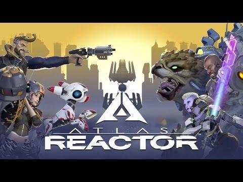 видео: atlas reactor ru Русский [1] Первый взгляд на игру.