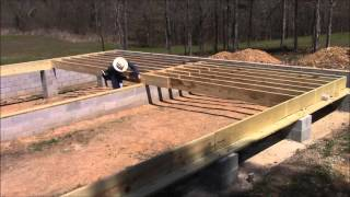 Building My Own Home: Episode 18 - Laying Out The Floor Joists