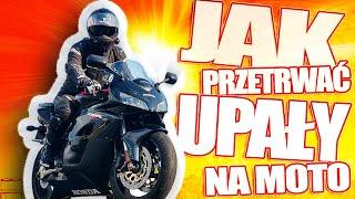 Jak przetrwać upały na moto - Moto know how - CODA MV