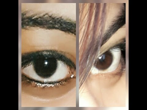 My Eye Color Changing Journey |Day-5| From Dark Brown To Hazel Green |Update-1|