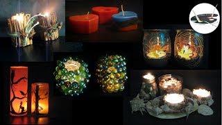 Zapętlaj 6 pomysłów na proste świeczniki - Pomysły plastyczne dla każdego | Joanna Wajdenfeld