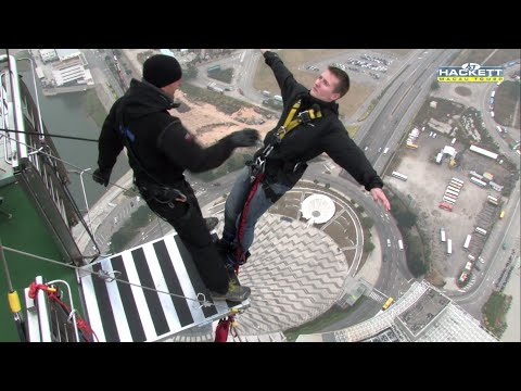 World's Highest Bungee Jump ᴴᴰ (Backwards!)