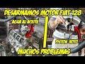 Desarme de Motor Fiat 128 - MUCHOS PROBLEMAS - Radialero Team