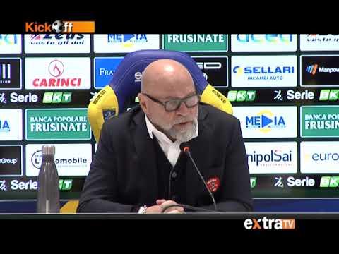 """Frosinone-Perugia 1-0, Cosmi: """"Troppa Paura, Attacco Inguardabile E Ko Meritato"""""""