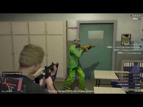 GTA V Online - Kỉ lục 21 người chơi Tấn Công Khu Quân Đội