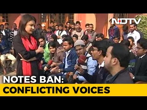 Aligarh Muslim University Debates Notes Ban