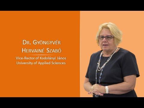 Gyöngyvér Hervainé Szabó at SESCO Budapest 2016 conference