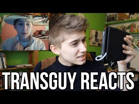 TRANSGUY REACTS TO FIRST VIDEO!