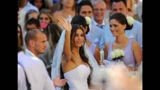Mágica boda de Wesley Sneijder y Yolanthe Cabau van Kasbergen