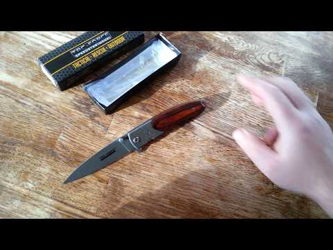 Damascus Tac-Force Spring Assisted Pocket Knife Review
