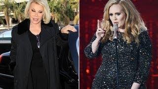 Joan Rivers Fat Shames Adele