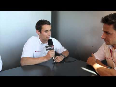 Oliver Jarvis Le Mans vBlog