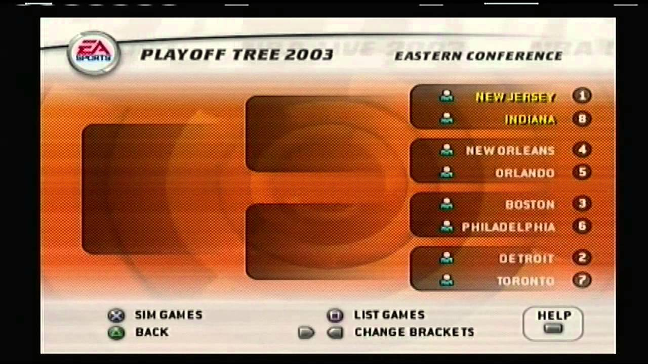 NBA Live 03 2002 NBA Playoff Brackets - YouTube 94280845e