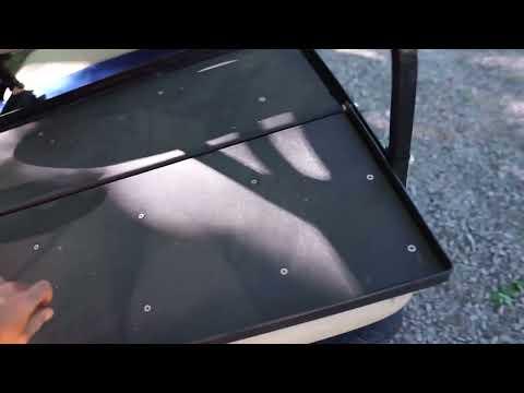 2014 E-Z-GO Freedom RXV Golf Cart (Gasoline) - YouTube