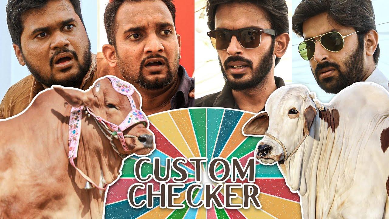 Download Custom Checker on Bakra EID | Comedy Skit | Sajid Ali | Ovais Mithani