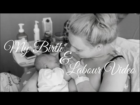 VLOG: MY BIRTH & LABOUR VIDEO