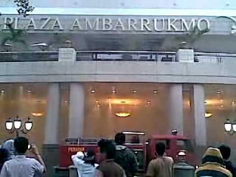 Bigest Mall in Jogjakarta on Fire
