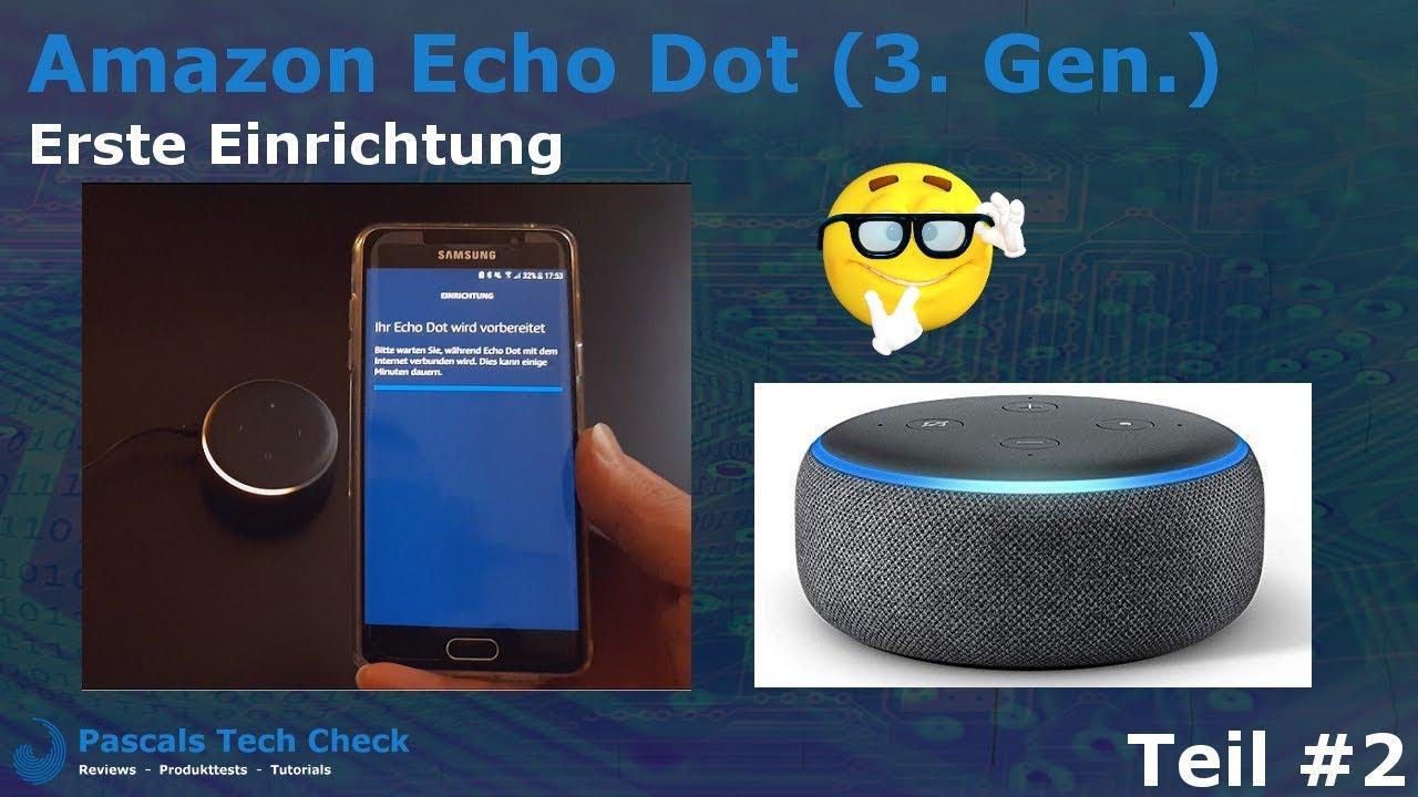 video Amazon Alexa Echo 3. Generation