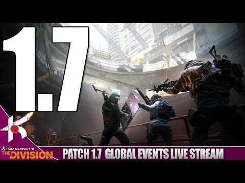 The Division   Patch 1.7 Global Events LIVE