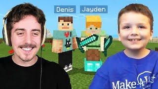 Denis Make-A-Wish with Jayden!