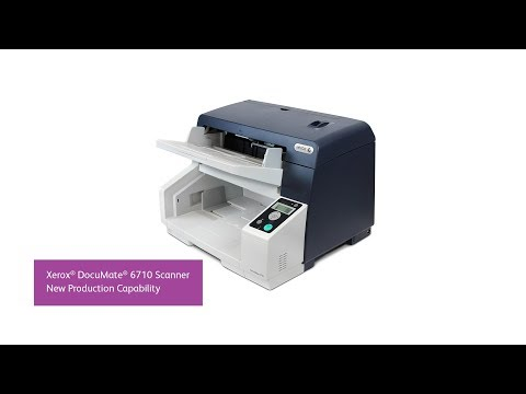 Xerox DocuMate 6710 accelerates digital transformation with production speed and parallel scanning