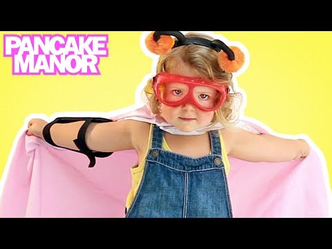 SUPERHERO SONG ♫ | Imagination & Fun | Kids Songs | Pancake Manor