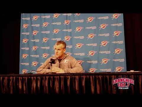 Thunder vs Celtics: Billy Donovan Postgame 11.3.17