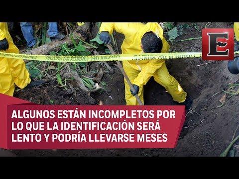 Nayarit confirma 33 cuerpos hallados en cuatro fosas clandestinas