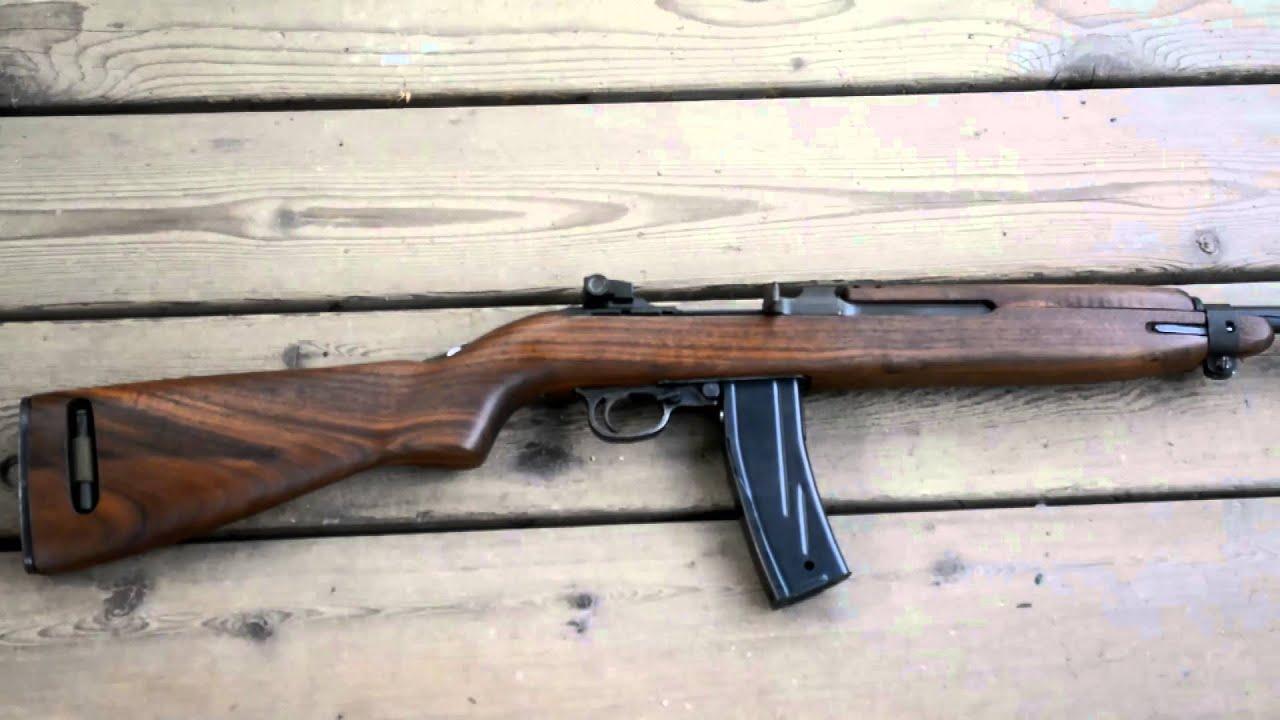US M1 CARBINE RIFLE (M1卡賓槍) - YouTube
