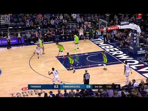Steven Adams Full Play vs Minnesota Timberwolves | 01/25/20 | Smart Highlights
