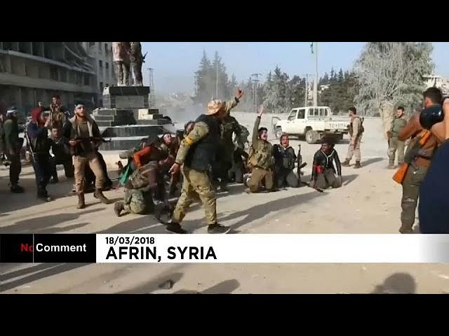 Turkish forces take control of Afrin