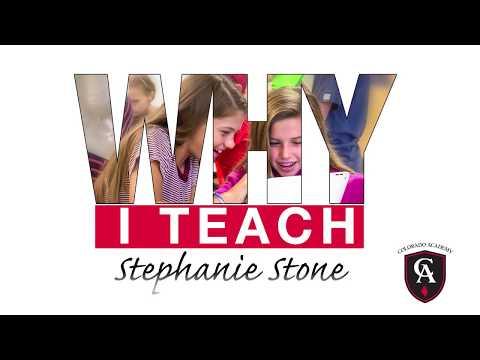 Colorado Academy Third Grade Teacher, Stephanie Stone, on 'Why I Teach'