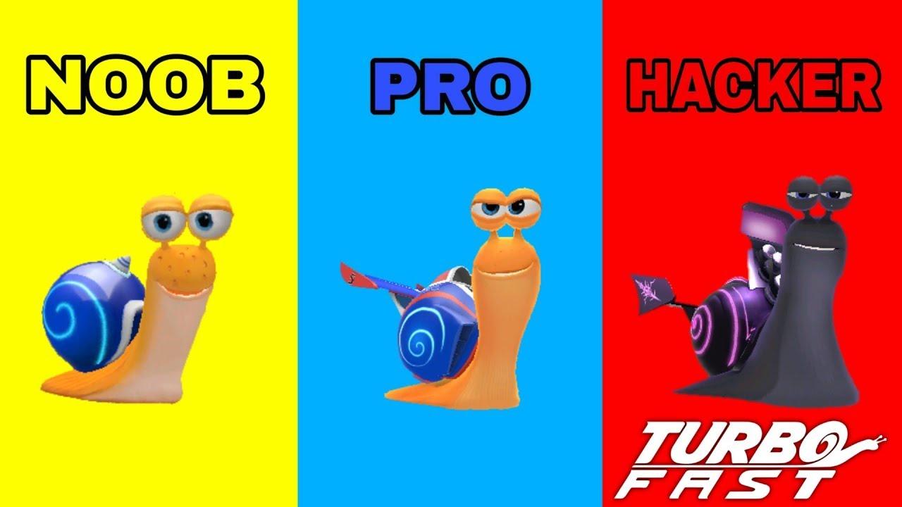 TURBO FAST – NOOB VS PRO VS HACKER