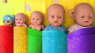 Are you sleeping Brother John Nursery Rhyme Song for Kids! Dolls Want to sleep