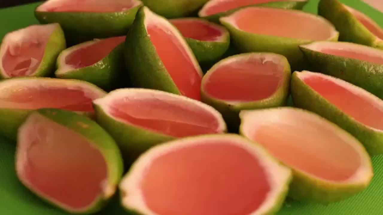 Strawberry Margarita Jello Shots Youtube