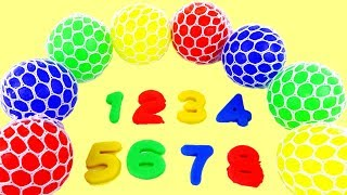Learn Numbers Colors Squishy Balls Educational Fun & Creative for Kids thumbnail