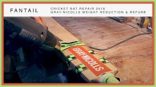 Cricket Bat Weight Reduction & Full Refurbishment