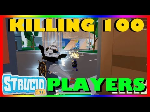 KILLING 100 PLAYERS IN STRUCID [BETA] (2019) |ROBLOX - YouTube