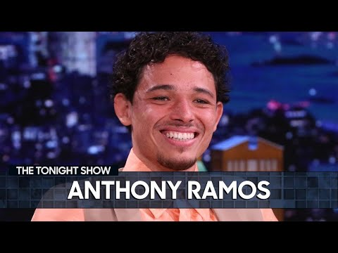 Lin-Manuel Miranda Didn't Give Anthony Ramos Any Advice for In the Heights  The Tonight Show