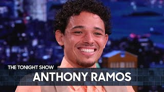 Lin-Manuel Miranda Didn't Give Anthony Ramos Any Advice for In the Heights| The Tonight Show