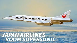 JAPAN AIRLINES Invest in the BOOM SUPERSONIC JET
