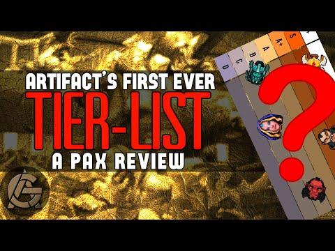 Artifact Hero Tierlist - The PAX Meta w/ a PAX Gauntlet