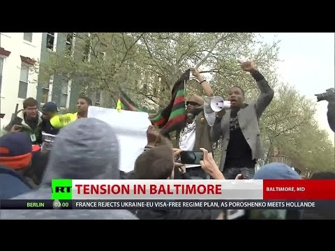 Baltimore protests death of Freddie Gray - RT Special Coverage
