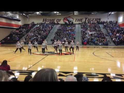 Amery High School Dance Team 2017 Regionals