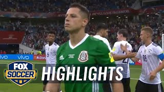 Germany vs. Mexico | 2017 FIFA Confederations Cup Highlights
