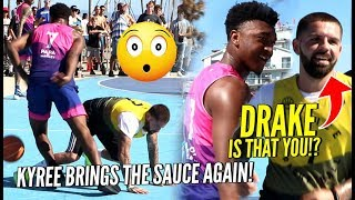 Kyree Walker GOES AT White Iverson In EPIC BATTLE at VBL!! WHO HAD MORE SAUCE!?