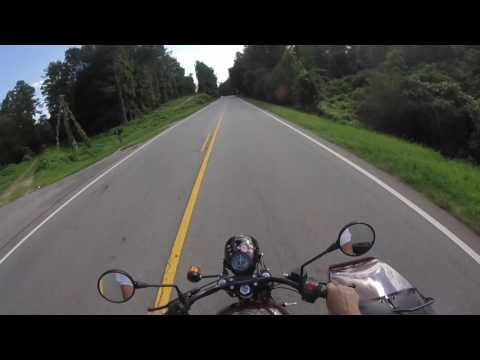 Riding New Ural M70 Home