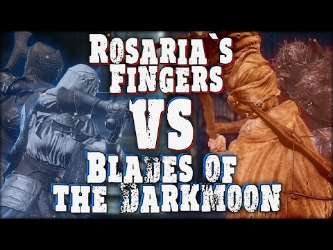 Dark Souls 3: Blades of the Darkmoon VS Rosaria's Fingers - Cosplay