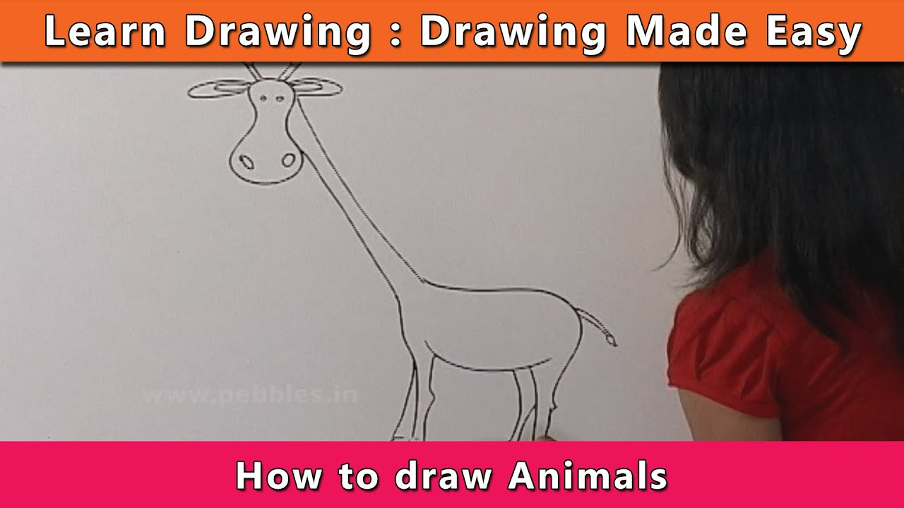 How To Draw Animals Learn Drawing For Kids Learn Drawing Step By