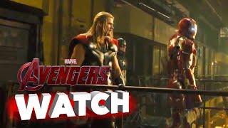 Marvel's Avengers: Age of Ultron: Group Fight Scene - Movie Clip